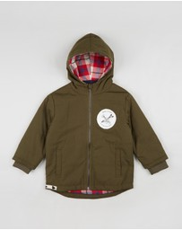 Raised by the Desert - Boston Jacket - Kids-Teens