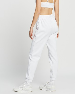 Factorie Super High Rise Trackpants - Sweatpants (White)