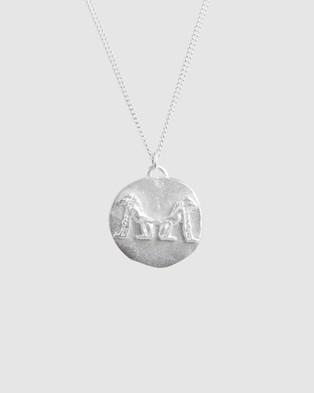 FAIRLEY Eternity Necklace - Jewellery (Silver)