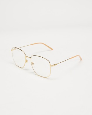 Gucci GG0396S001 - Optical (Gold)