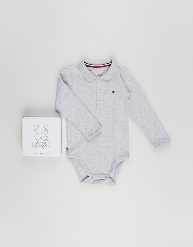 Tommy Hilfiger - Polo Bodysuit Gift Box - Babies