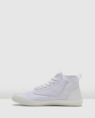 Volley Heritage High - High Top Sneakers (White/White)