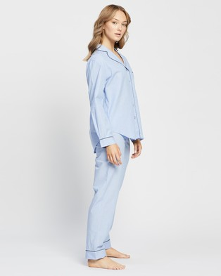 Jasmine and Will Classic Long Set - Two-piece sets (Placid Blue)