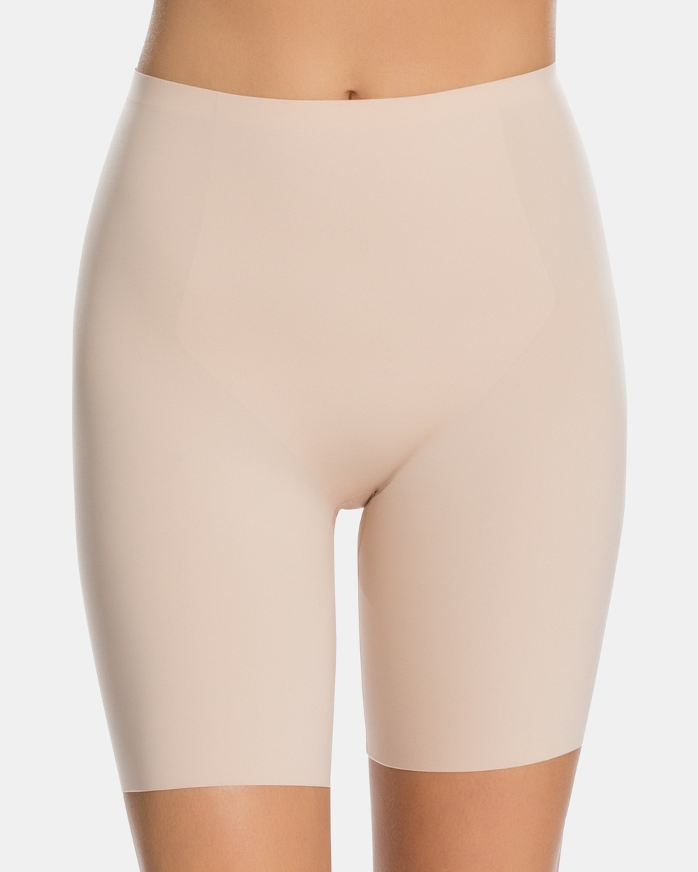 Spanx Thinstincts Mid Thigh Shorts Lingerie Nude Mid-Thigh