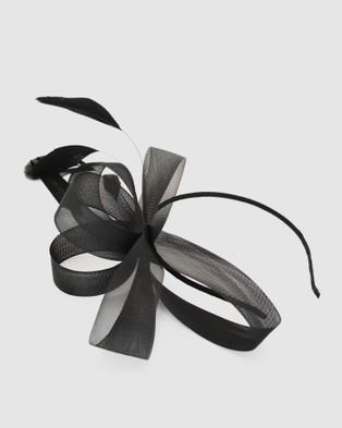 Morgan & Taylor Nyla Fascinator - Fascinators (Black)