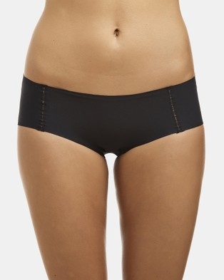 Love and Lustre Flats Hipster Briefs 2 Pack - Hipster Briefs (Black)