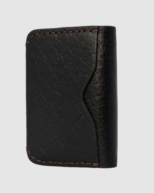Loop Leather Co Wally - Wallets (Black)