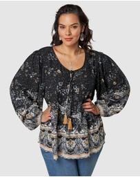 The Poetic Gypsy - Healing Nation Blouse