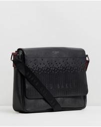 Ted Baker - Wowee Embossed Messenger Bag