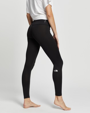 The North Face - Warm Poly Tights - Full Tights (TNF Black) Warm Poly Tights