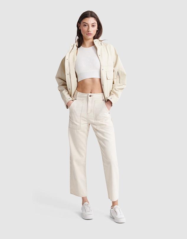 Women Bora Cropped Jacket