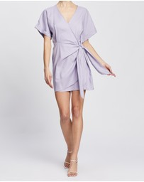 Atmos&Here - Sedona Linen-Blend Mini Dress