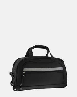 Cobb & Co Devonport Large Wheel Bag - Travel and Luggage (black)