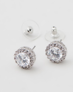Stephanie Browne Bella Earrings - Jewellery (Rhodium)