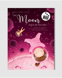 Sassi - Lights, Camera, Action - The Moon Goes On Holidays Picture Book