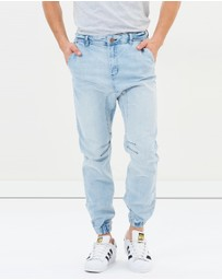 Cotton On - Slim Denim Jogger Pants