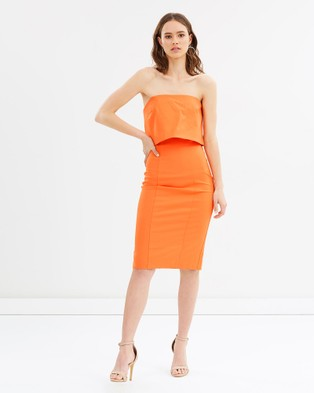 Grace Willow – Iris Strapless Dress