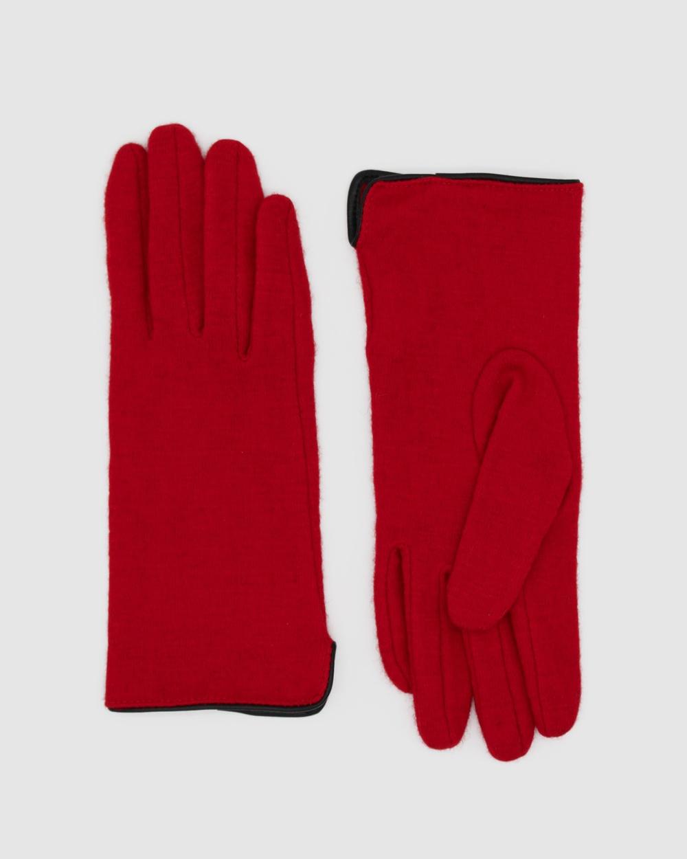 Morgan & Taylor Valentina Gloves Scarves Red