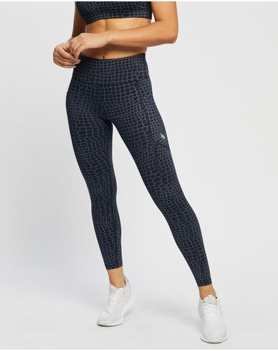 Running Bare - Ab Waisted All Star Full Length Tights