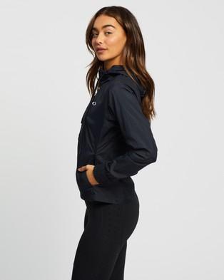 Oakley Run Free Full Zip Hooded Jacket - Coats & Jackets (Blackout)