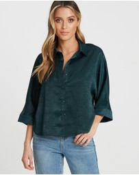 Calli - Rhianna Button-Up Shirt