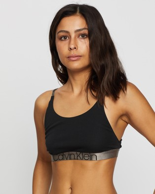 Calvin Klein Icon Bralette - Briefs (Black)