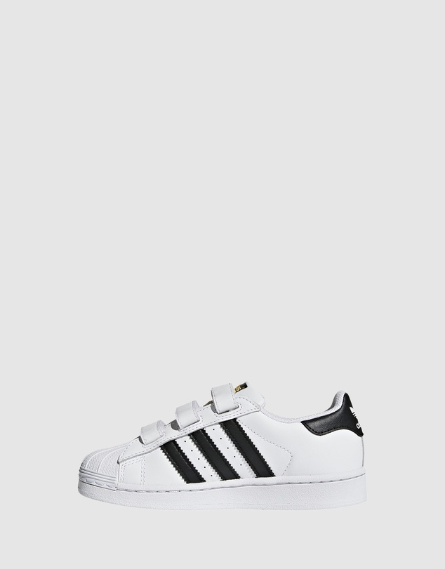 adidas Originals - Superstar Foundation Strap Pre School