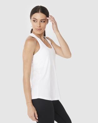 Muscle Republic Flow Singlet - T-Shirts & Singlets (White)