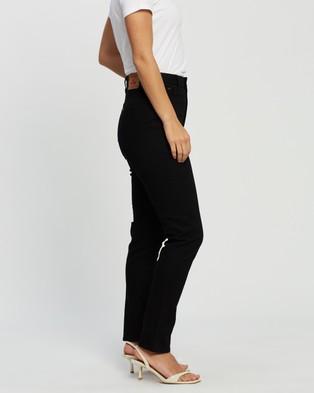 Riders by Lee Classics High Slim Jeans - Slim (Flat Black)