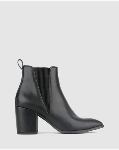 Betts - Cobra Block Heel Ankle Boots