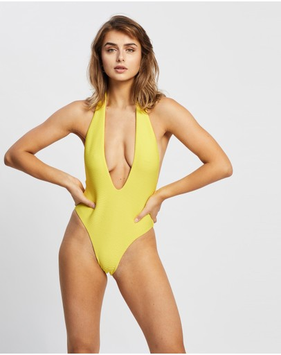 IT'S NOW COOL - Low Front One Piece