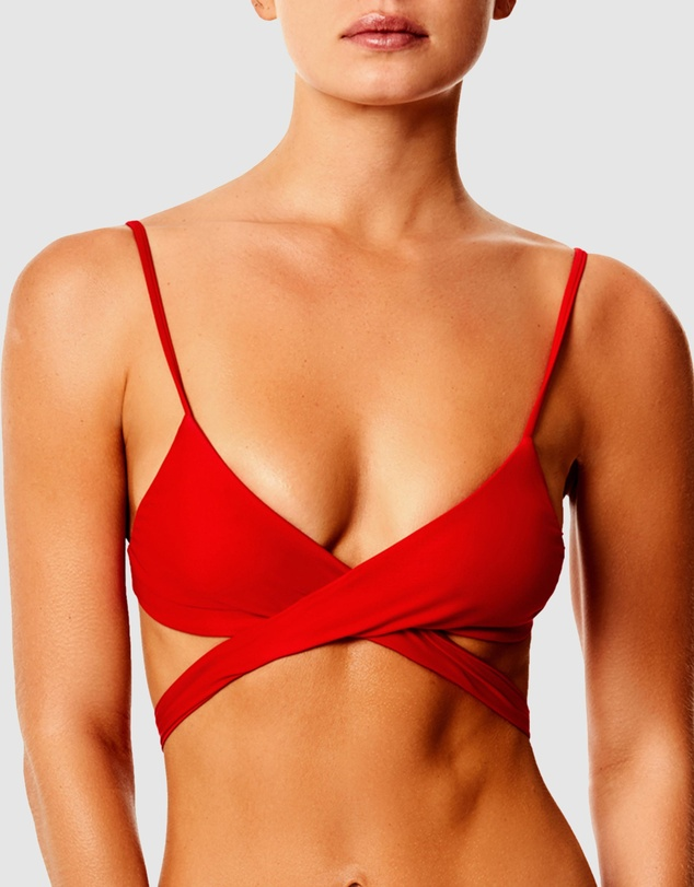 IT'S NOW COOL - Cross Over Bralette