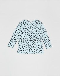 Noe and Zoe - Waffle Long Sleeve Top - Babies