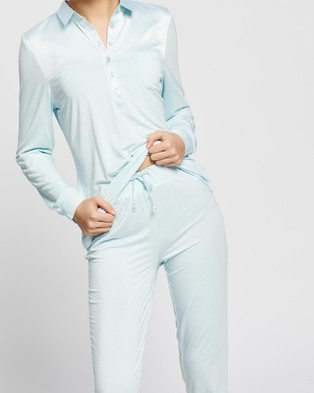 Gingerlilly Iris - Two-piece sets (Pale Blue)