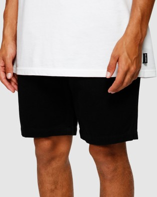 Billabong Larry Layback Twill Shorts BLACK