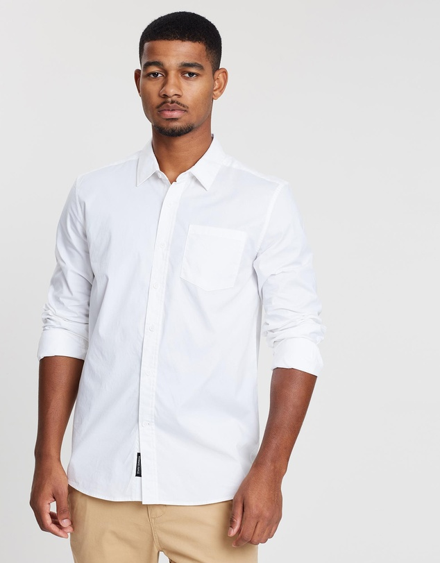 Staple Superior - Staple Stretch Cotton Shirt