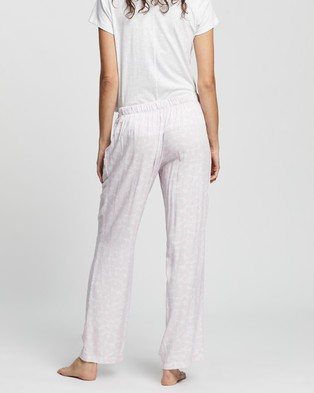 Calvin Klein Woven Sleep Pants   Women's - Sleepwear (Print)