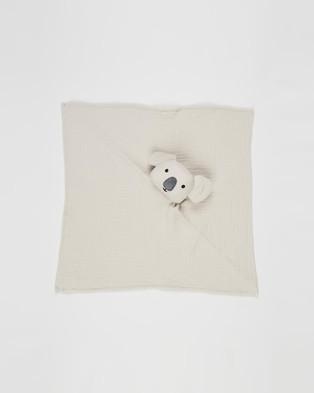 Bebe by Minihaha Koala Comforter Babies Blankets Grey