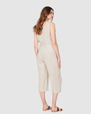 Soon Maternity Lily Feeding Jumpsuit - Jumpsuits & Playsuits (NUDE)