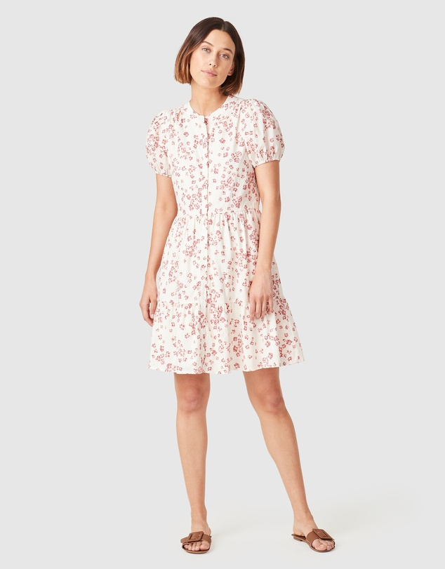 French Connection - Puff Sleeve Dress