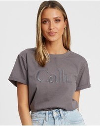 Calli - Embroidered T-Shirt