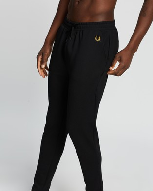 Fred Perry Twill Track Pants - Sweatpants (Black)