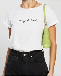 TOPSHOP - 'Always Be Kind' T-Shirt