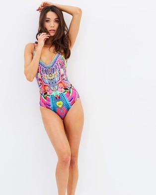 Camilla – Wired V Neck One Piece – One-Piece / Swimsuit (Ms Mochilla)