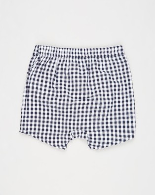 Cotton On Baby Kelly Shorts   Babies - Bloomers (Navy Blazer & Mini Gingham)