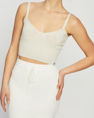 Mcintyre Flora Merino Lite Singlet - T-Shirts & Singlets (Cream)