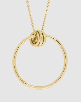Pastiche Novo Necklace - Jewellery (Gold)
