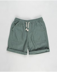 Free by Cotton On - Free Boys Hunter Shorts - Kids-Teens