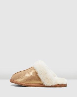 Hush Puppies Cushy - Slippers & Accessories (Bronze Suede)
