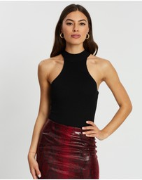 Missguided - Racer Neck Bodysuit